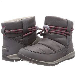 Sorel Whitney Short Boots Quarry Grey New! 8.5